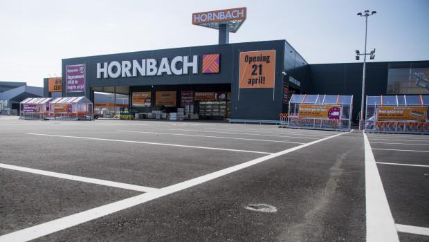 Der neue Hornbach-Markt in Den Haag bietet auf 15.000 m² rund 120.000 Artikel an.