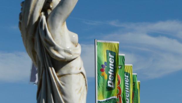 Die Dehner-Flagge wird an neun neuen Standorten gehisst, die der Gartencenterbetreiber zwischen März und April eröffnet.