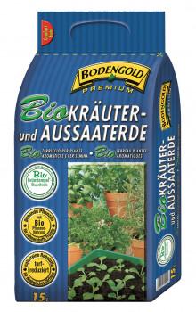 Ziegler, Bodengold, Bio Kräuter- und Aussaaterde