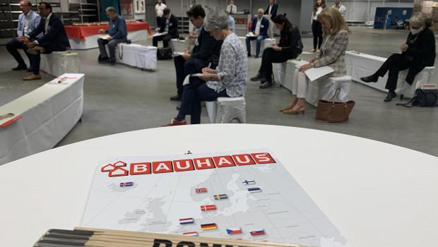 Bauhaus lud jetzt nach Bonn zu einer Pressekonferenz.