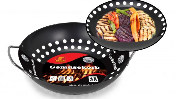 Boomex, Grill-Gemüsekorb, Marke Flash