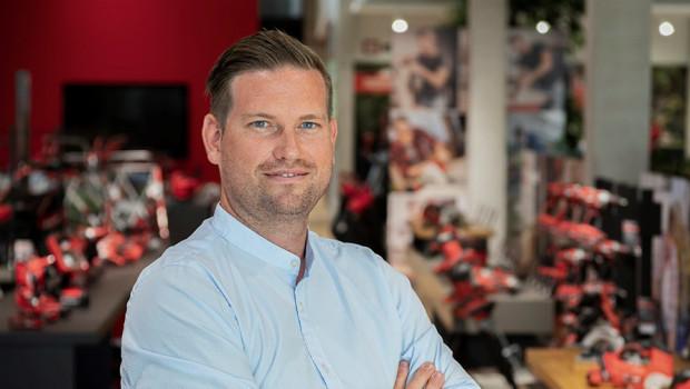 Neuer Marketingchef von Einhell ist Julian Bohry.