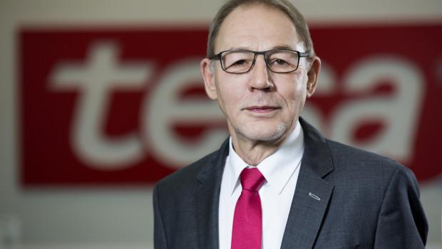 """Dr. Robert Gereke, Vorstandsvorsitzender der Tesa SE: """"2016 hat sich Tesa insgesamt positiv entwickelt."""""""