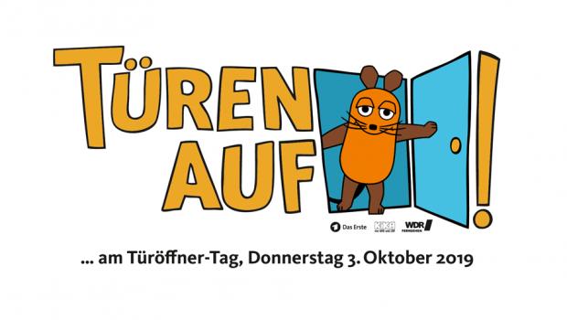 """Hier kommt die Maus: Die Dehner-Gärtnersiedlung beteiligt sich mit K&K-Pflanzen am """"Türöffner-Tag"""". Bild: WDR"""