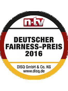 Die Handwerkerportale von Blauarbeit, Myhammer und Undertool sind vom Nachrichtensender n-tv und dem Deutschen Institut für Service-Qualität mit dem Fairness-Preis 2016 ausgezeichnet worden.