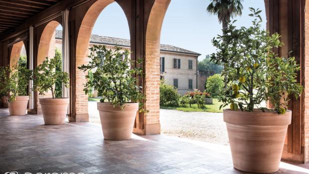 Deroma tritt als Hersteller hochwertiger Terrakotta-Pflanzgefäße auf und gilt als europäischer Marktführer.