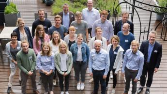 Sagaflor-Vorstand tauscht sich mit Jungunternehmern aus