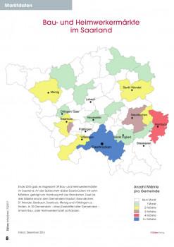 Bau- und Heimwerkermärkte im Saarland.