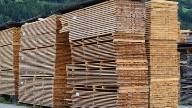 Der Holzhandel war 2013 leicht im Minus (Foto: Andreas Hermsdorf, pixelio).