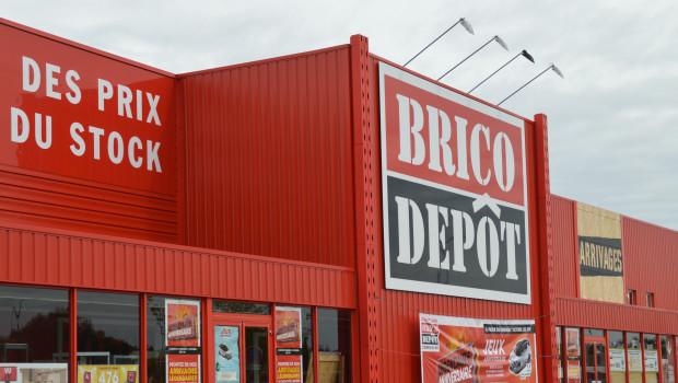 Ein Umsatzplus von 101,7 Prozent meldet Brico Dépôt in Frankreich im ersten Quartal.