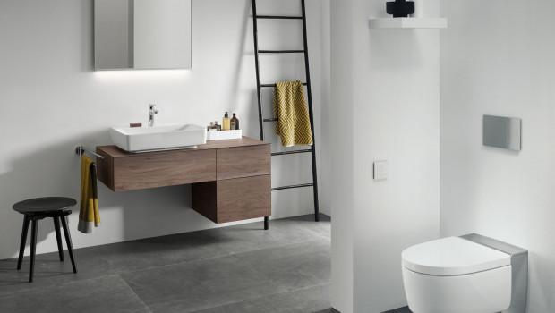 Viele Menschen nutzten die Lockdown-Zeit für Sanierungsprojekte im eigenen Heim, beispielsweise im Bad.