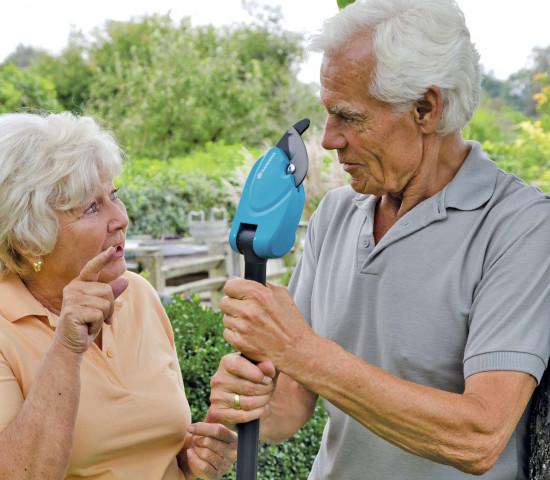 Wie sieht die Zukunft im Garten aus? Hersteller müssen sowohl die Wünsche der agilen Senioren...