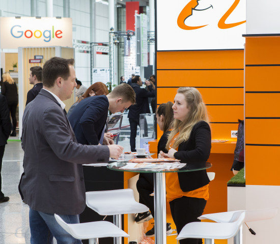 Auch der E-Commerce war erstmals mit eigenen Standformaten in Köln vertreten.