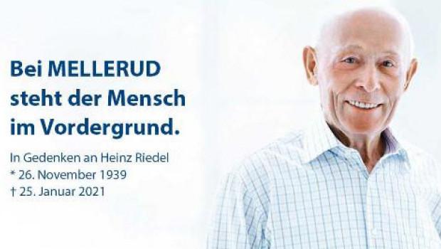 """""""Bei Mellerud steht der Mensch im Vordergrund"""" war seine gelebte Praxis, so die Hinterbliebenen über den Firmengründer."""