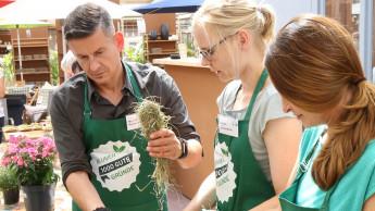 Workshop-Roadshow soll junge Kundinnen ins Gartencenter holen