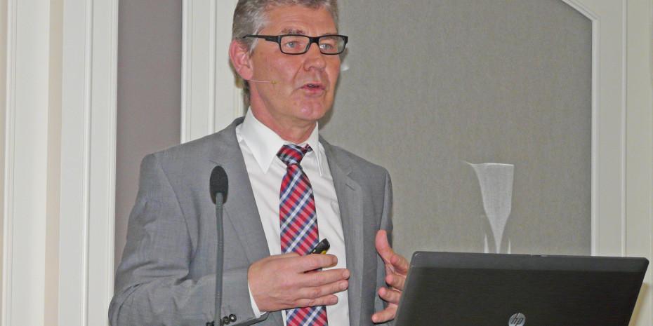 Gartencenter ist nicht gleich Gartencenter: Franz-Josef Isensee, Vorstandssprecher der Sagaflor, bezog Position für den Fachhandel.