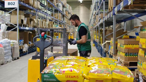 Im seinem Multi-User-Warehouse in Neuwied übernimmt Elsen die Wareneingangs-, Lager- und Warenausgangsfunktionen für Westland.