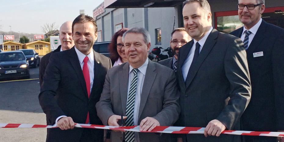 Eröffnung Hagebaumarkt