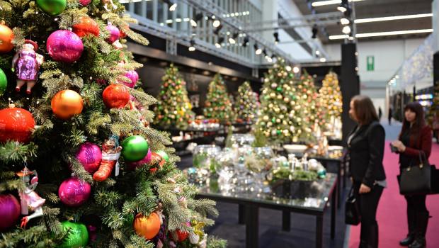 Die Christmasworld gilt als internationale Leitmesse für Dekoration und Festschmuck. Für 2016 ist sie fast ausgebucht.