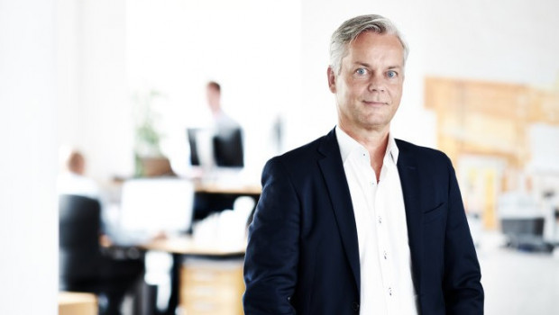 Hans Henrik Lund, CEO von Nilfisk, ist mit den 2017er Unternehmenszahlen sehr zufrieden.