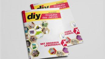 """Die """"diy Produkte des Jahres"""" stellen sich wieder der Wahl"""