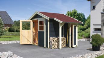 Holz-im-Garten-Anbieter kümmert sich um Holz im Wald