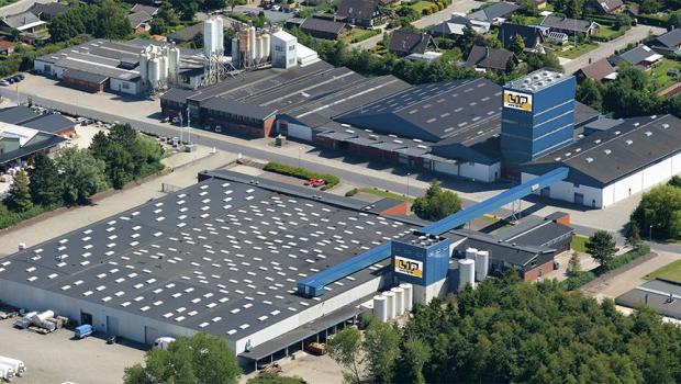 Standort von LIP Bygningsartikler AS (LIP) in Nørre Aaby (Dänemark). Bild: MEM Bauchemie GmbH