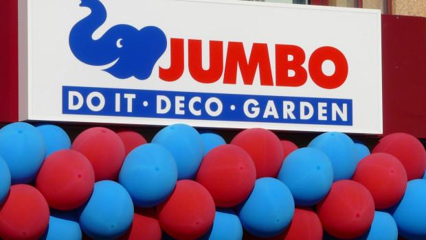 Do it, Deco, Garden: Das sind die drei großen Sortimentsbereiche, die Jumbo abdeckt.