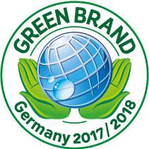 Das Green-Brands-Siegel ist zunächst für zwei Jahre gültig.