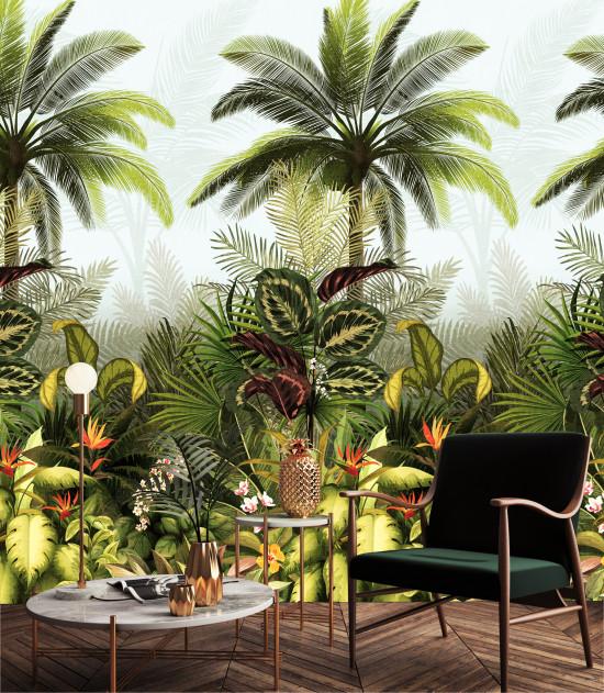 Der Dschungel wird in intensiven Farben dargestellt.