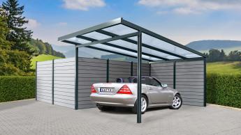 Neue Terrassendächer und Carports