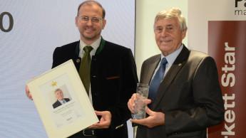 Franz Neuhofer sen. erhält Parkett Star 2020 für sein Lebenswerk