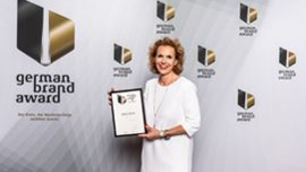 Nach dem Vorjahr erneut siegreich beim German Brand Award 2019: Daniela Grumbach, Director Marketing Home & Business.