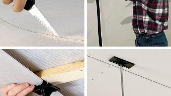 Gipskartonplatten verarbeiten