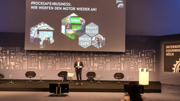 Präsentation auf Distanz: Koelnmesse-Geschäftsführer Oliver Frese stellte gestern in Köln das neue Konzept für die Internationale Eisenwarenmesse 2021 vor.