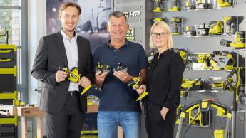 Ryobi startet Kooperation mit Mark Kühler