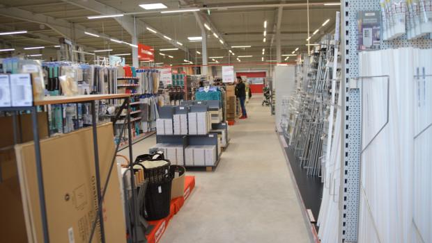 Der Einzelhandel mit Metallwaren, Anstrichmitteln, Bau- und Heimwerkerbedarf ist im November um ein Prozent gewachsen.