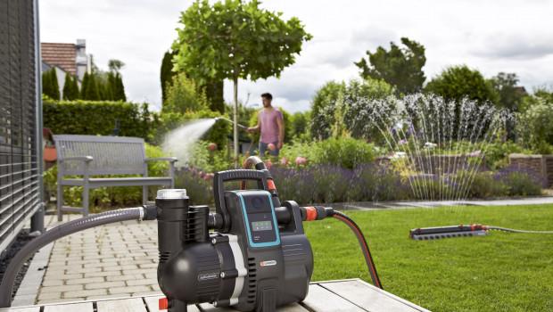 Bewässerungstechnik ist einer der Produktbereiche, mit denen Gardena im zweiten Quartal besonders erfolgreich war.