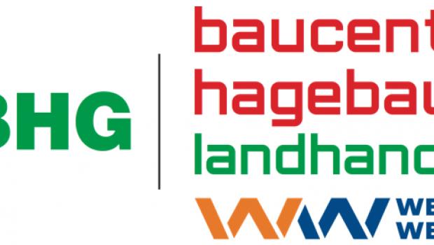 Das neue Logo der BHG Kamenz ist nach dem Wechsel von der Baywa zur Hagebau relativ umfangreich.