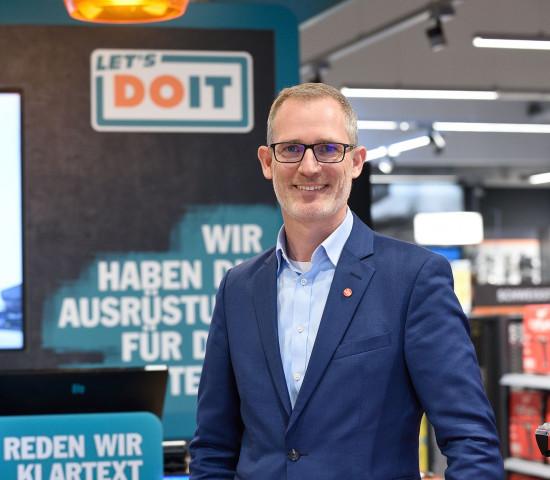 """""""Die digitale Welt auf spielerische Weise in die Verkaufsgespräche vor Ort integrieren"""": 3e-Vorstand Markus Dulle."""