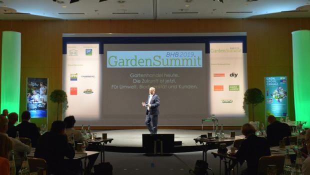 BHB-Geschäftsführer Peter Wüst will die Teilnehmer des nächsten BHB Garden Summit am 1. Juni 2021 begrüßen.