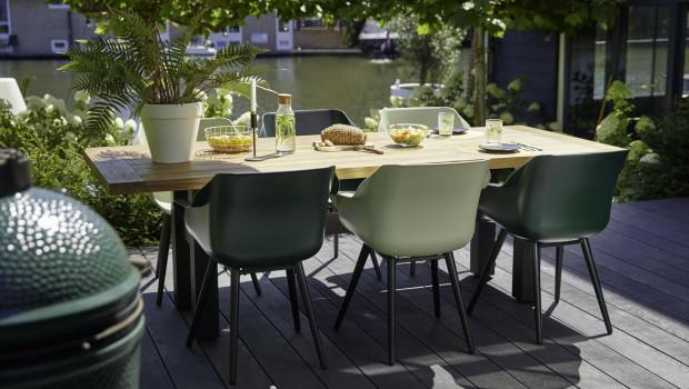 Bei der Schöner-Wohnen-Kollektion gibt es bald Outdoor-Möbel und -Textilien des Lizenzpartners Hartman.