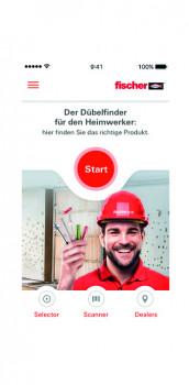 fischwerke, Fischer-App Dübelfinder