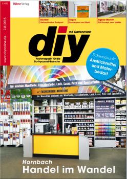 Die aktuelle diy-Ausgabe bringt wieder eine Fülle von Themen.