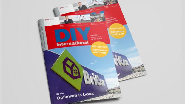 Die aktuelle Ausgabe von DIY International ist jetzt erschienen.