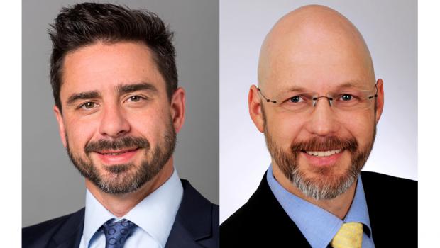 Oliver Anderer (l.) und Holger Wickel sind seit Juni neu im Team von Pronova Dichtstoffe.