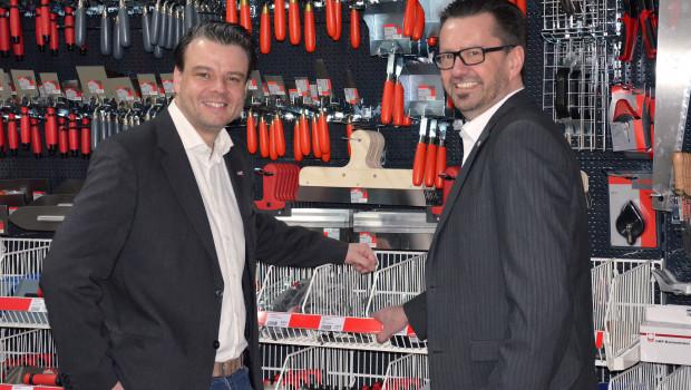 Neben Sascha Graf (l.) für Vertriebsbereich West und Süd,verantwortet nun bei Suki Torsten Kosalla die Fachhandelskunden im Osten und Norden Deutschlands.