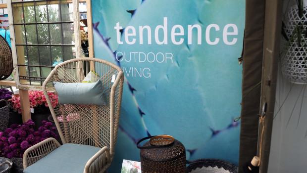 Das Areal Outdoor Living war eine der zahlreichen Sonderpräsentationen im Rahmen der Tendence.