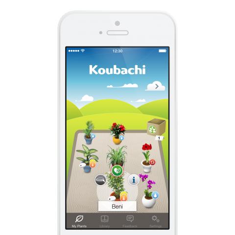 Die automatisierte Garten- und Pflanzenpflege lässt sich per App steuern.