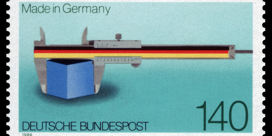 Made in Germany, Briefmarke